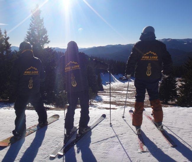 Инструкторите в ски училище Про Лайн