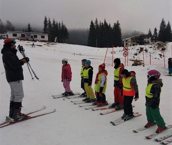 Ски обучение в група