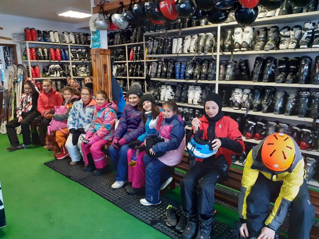Наем на ски и сноуборд