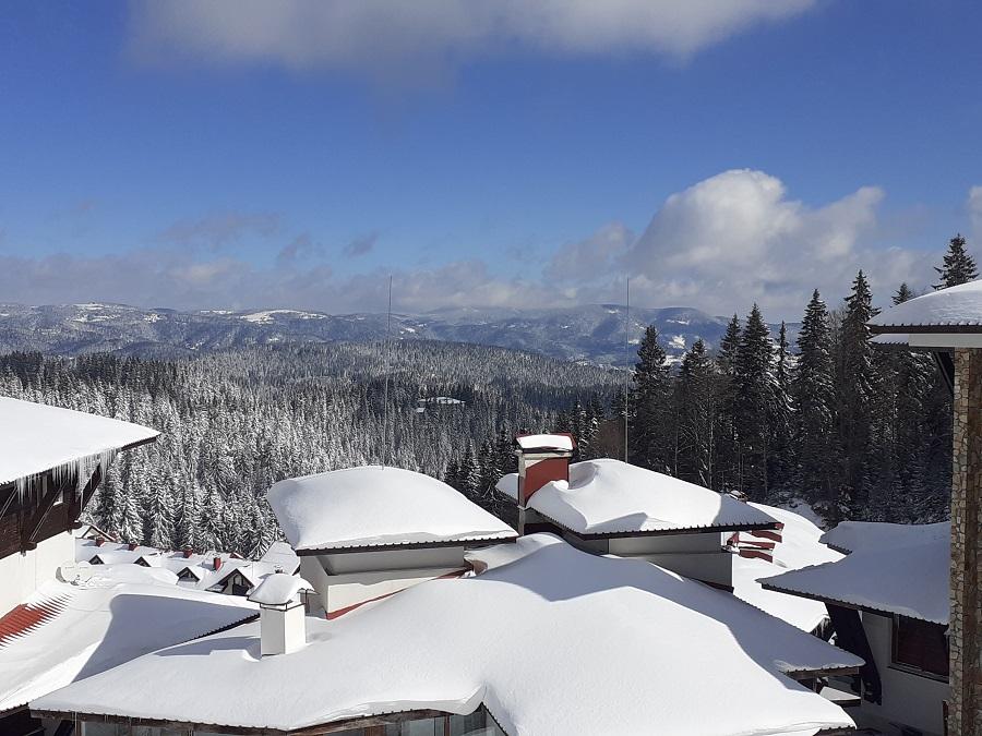 Снежни покриви в Пампорово